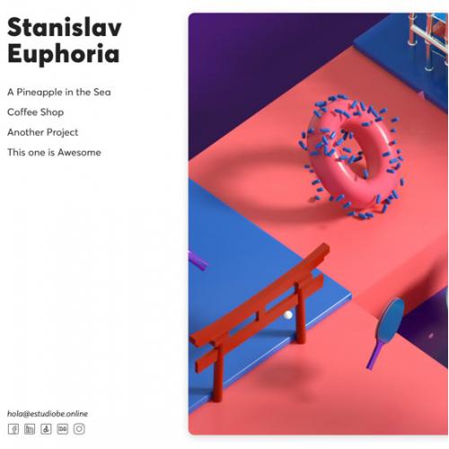 Stanislav Horizontal Portfolio