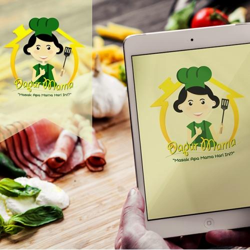design logo dapur mama
