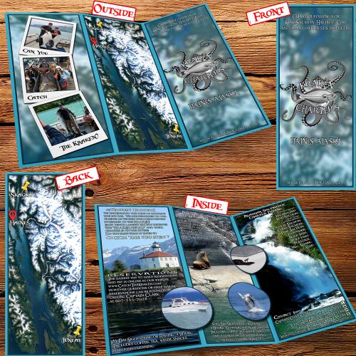 Tri-Fold Brochure design for adventure conpany