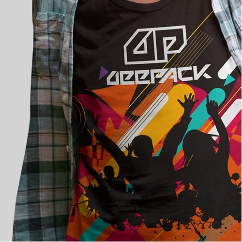 project DEEPACK a brand new T-shirt design