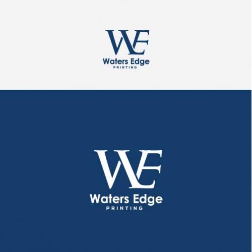 water edge logo design