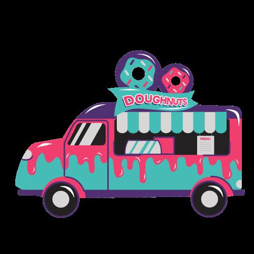doughnuts bus