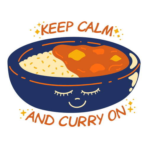 Keep calm and curry on