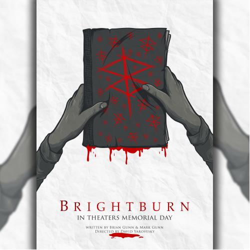 brightburn alternative movie posters