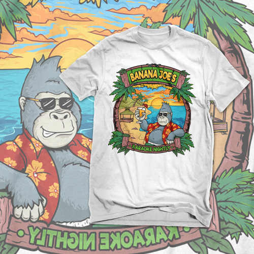 banana joe\'s illustration shirt