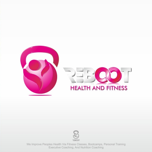 LOGO FOR REEBOOT HEALTHY 3D