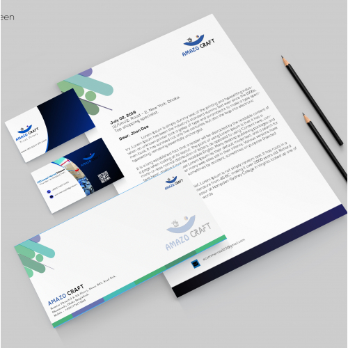 I Will Design Your Letterhead, Business Cards Or Statio