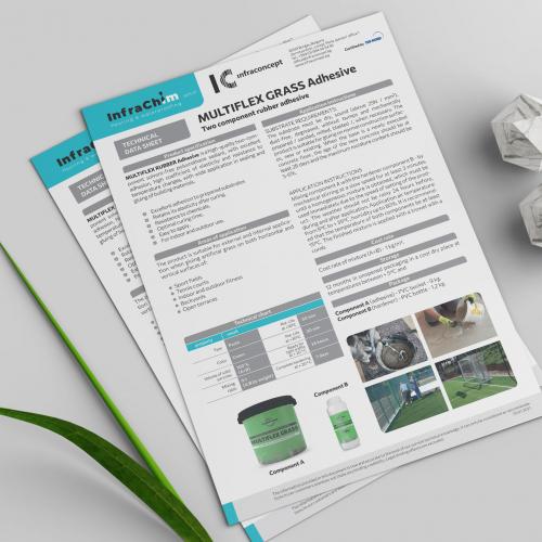 Brochure Design for Infrachim Ltd.