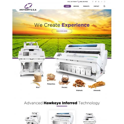 Anysort USA website
