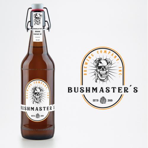 bottle label logo