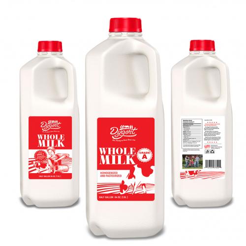 Milk Label Design