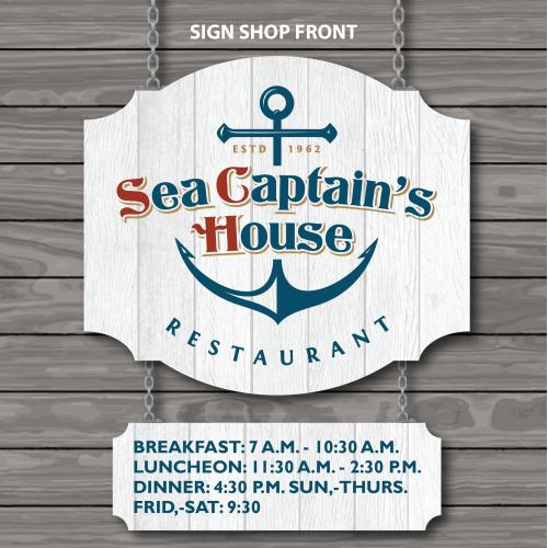 Signage Restaurant