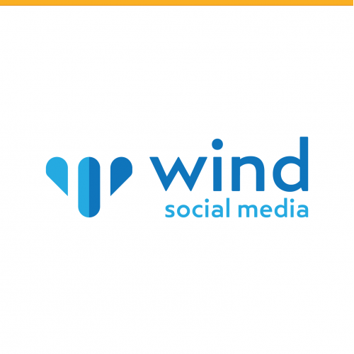 Wind Social Logo Design