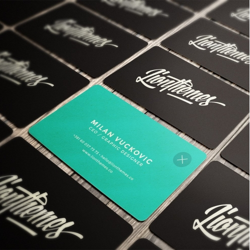 LionThemes Business Cards