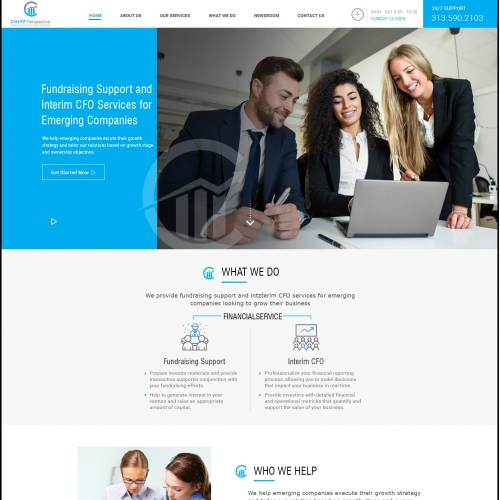 Responsive theme based Wordpress compatible web design