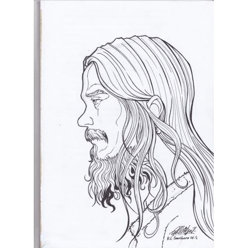 drawing my self