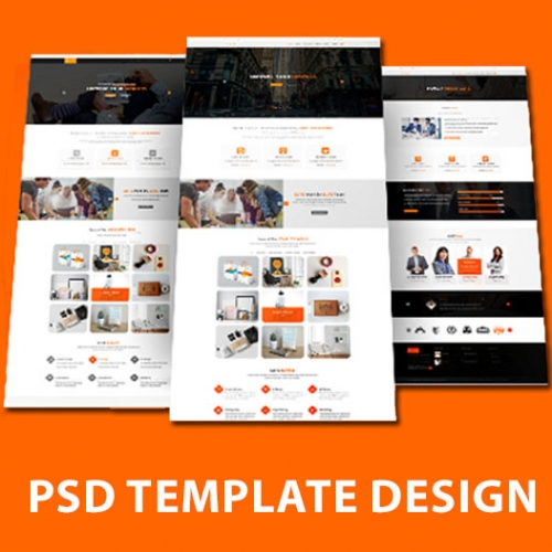 PSD Template Design