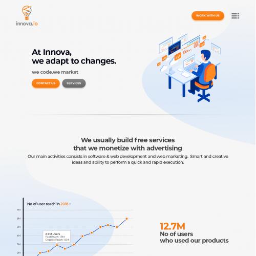 Innov8 Website