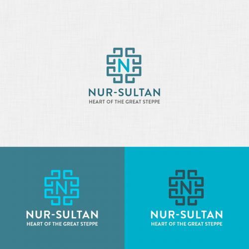 Nur-Sultan Logo Concept