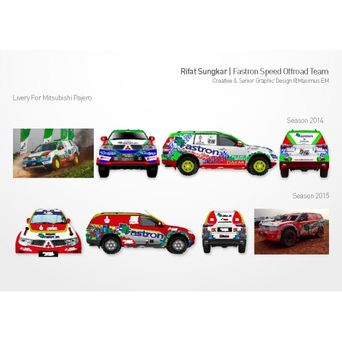 Fastron Speed Offroad Team Livery Design 2014 and 2015