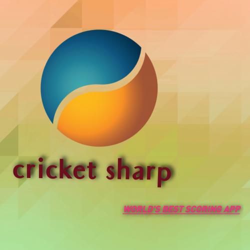 Logo design for cricket scoring app