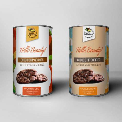 Package For Cookie Mix.