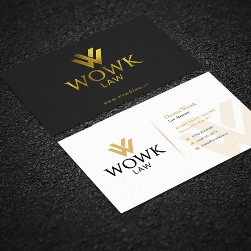 Modern and cool , stylish business card