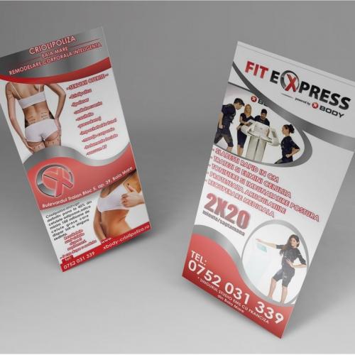 Flyer design for Fit