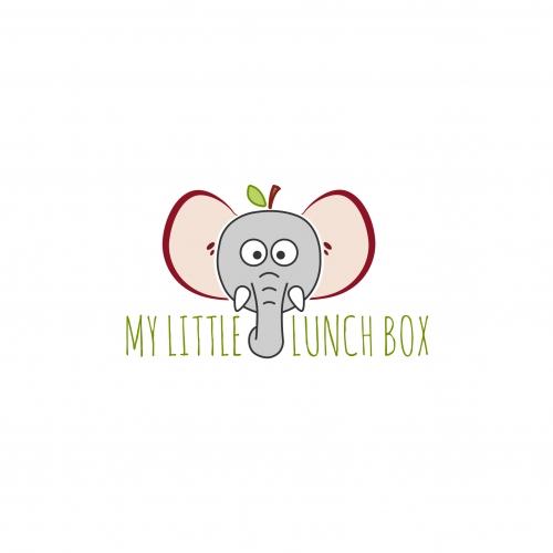 Lunch box service logo design