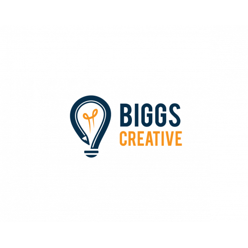 Winning design for Biggs Creative