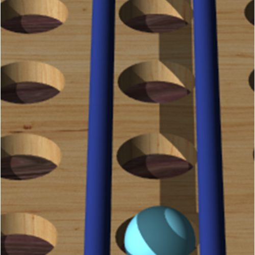 Wooden game-Hashi
