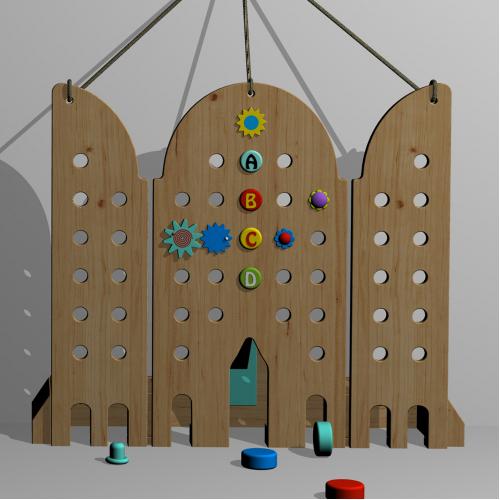 Wooden toy design