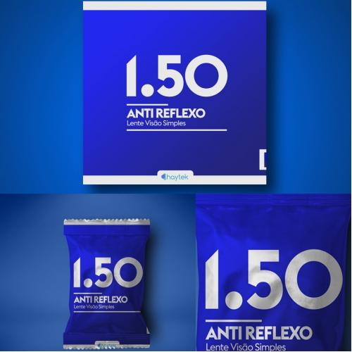 Packaging design concept for haytek lens company
