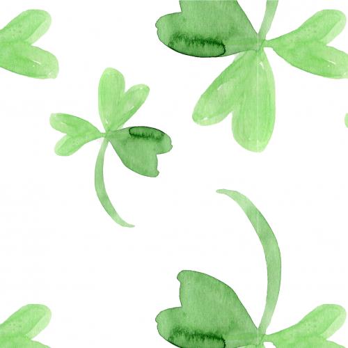 green clover pattern