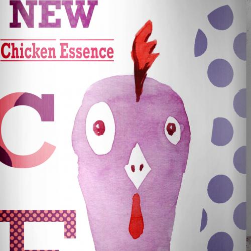 chicken essence packaging design