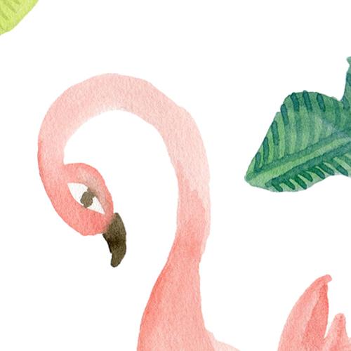 fashionable flamingo