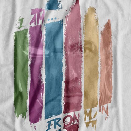 I Am Iron Man T-shirt (Colour)