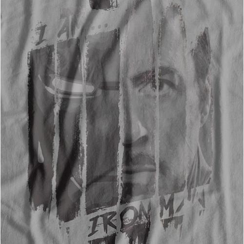 I am Iron Man T-shirt (Grey)
