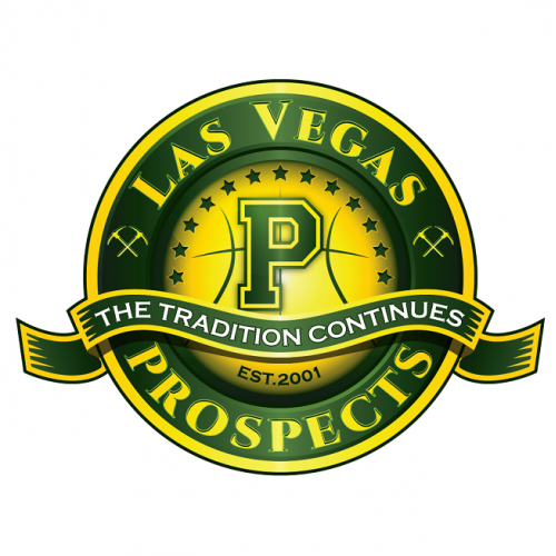 Las Vegas Prospects basketball team logo.