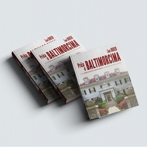 The Baltymore Boys - Book Cover Design