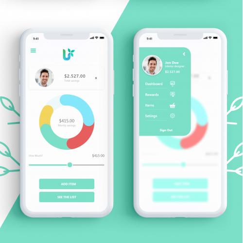 Mobile App Design ( UI