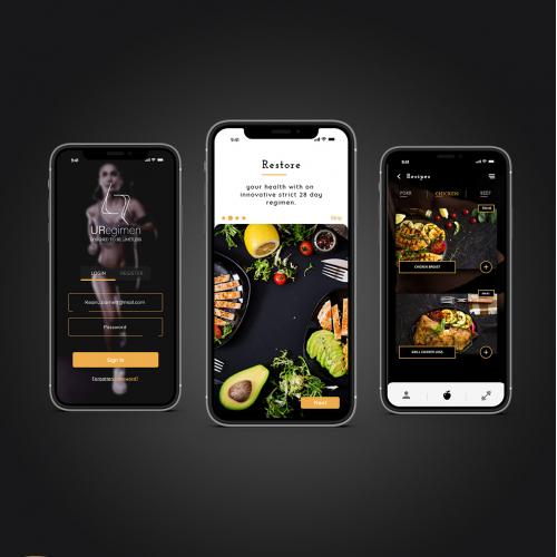 Health-restoring app Ux