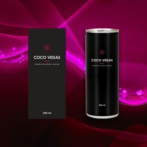 Label energy drink