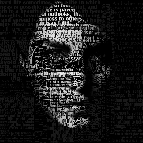 Face Typography - Photoshop