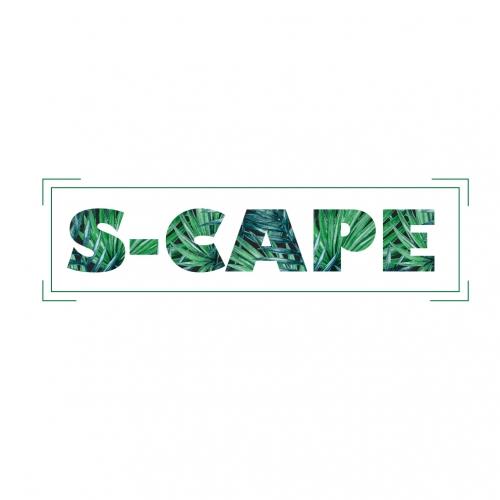 S-Cape Logo design for a swimwear brand