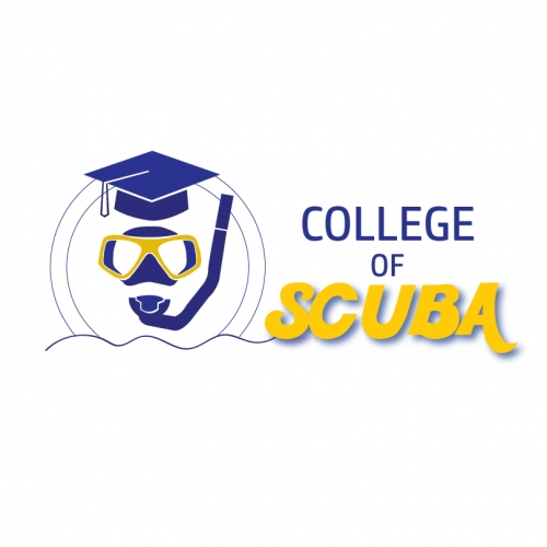 Scuba college logo design