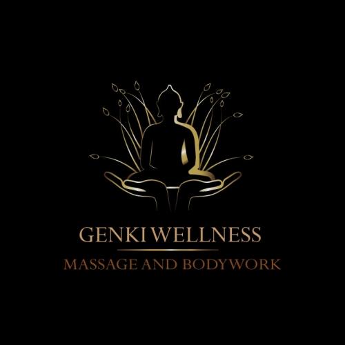 Buddha logo design for a wellness brand
