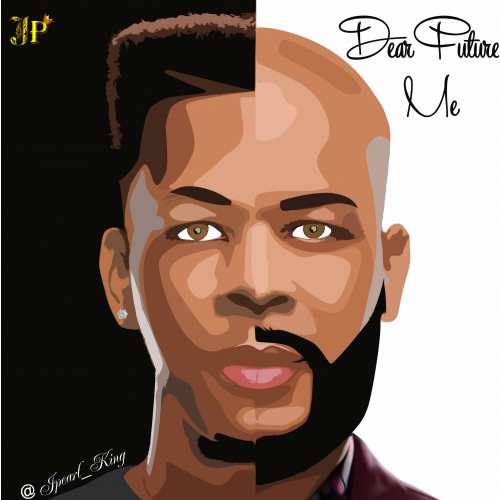 Digital Painting of James Fortune designed by me
