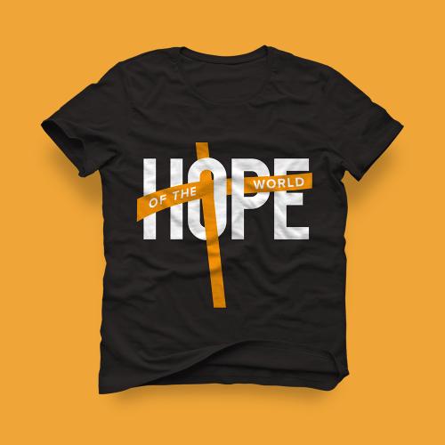 Hope of the World Christian Wear Design
