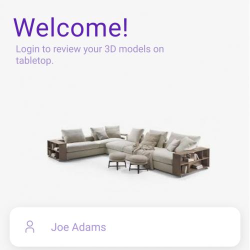 Furniture shop App Design